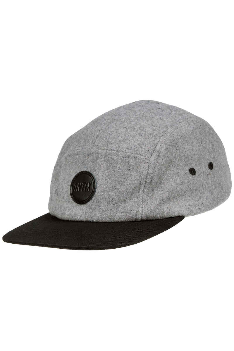 Antix Anno 5 Panel Cap (wool grey black)