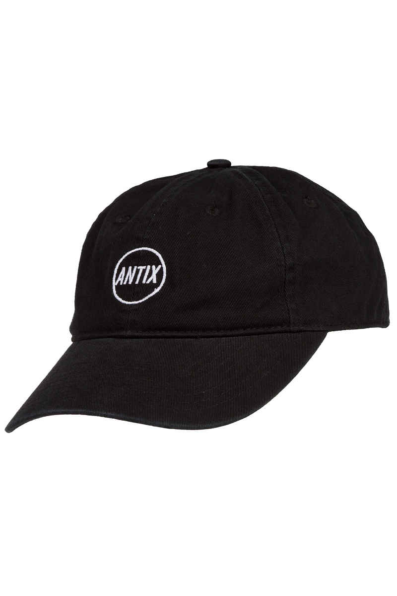 Antix Ambit 6 Panel Strapback Cap (black)