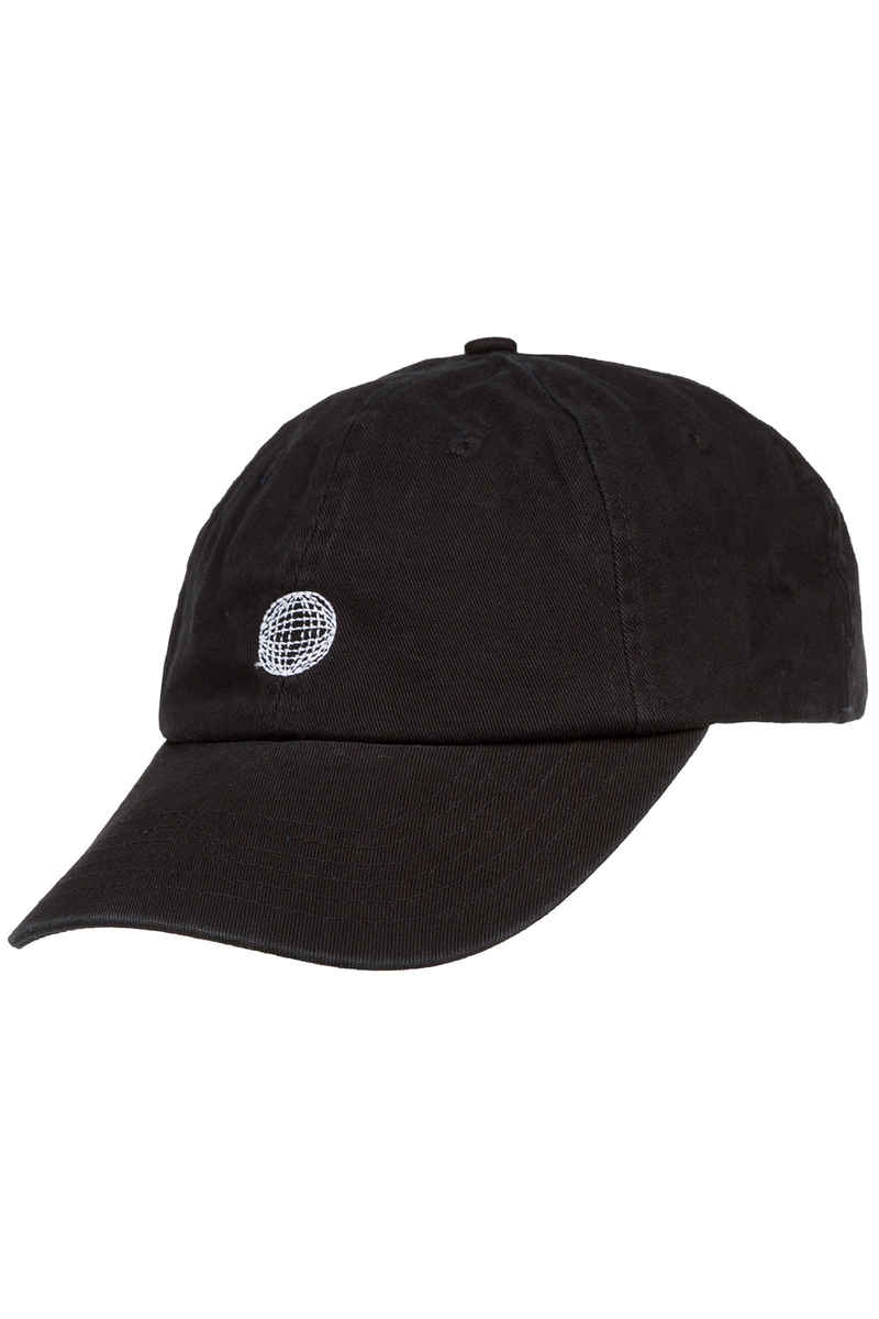 SK8DLX 90s Global 6 Panel Dad Cap (black)