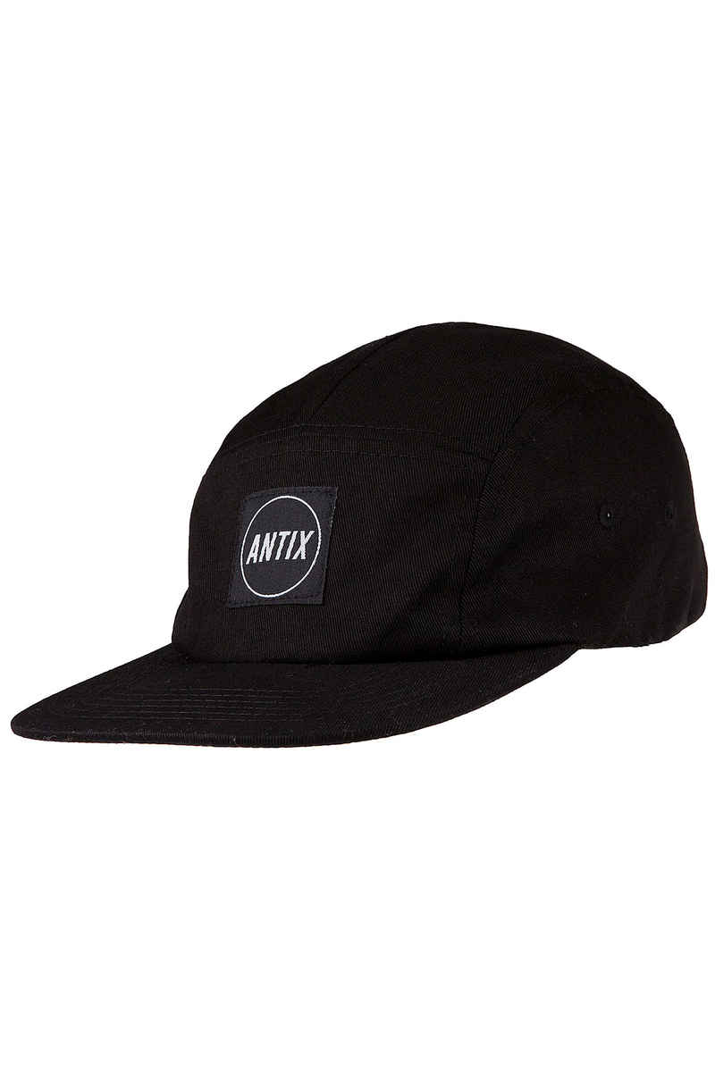 Antix Versa 5 Panel Casquette (all black)