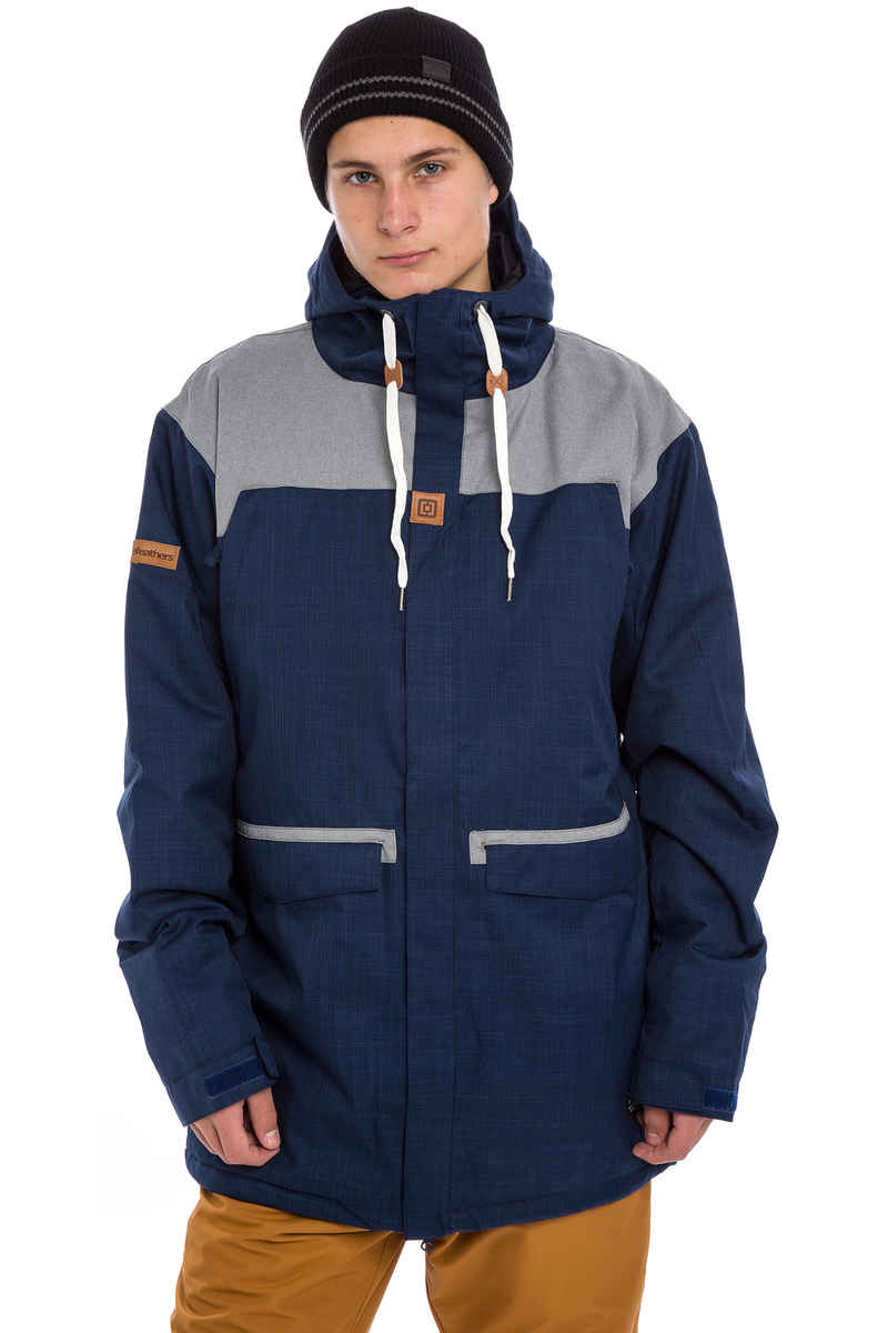 Horsefeathers Moore Chaqueta Snow (heather navy)