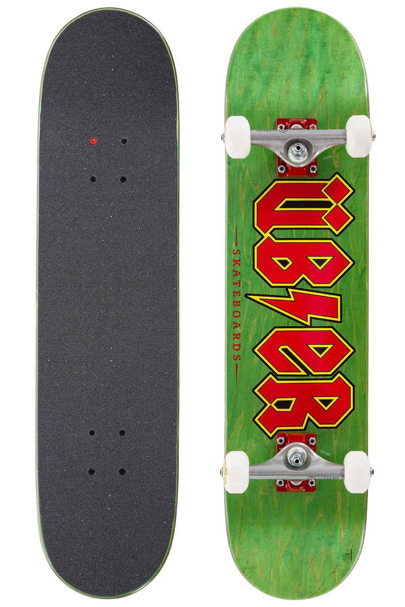 """Über Skateboards Reality Bites 7.5"""" Complete-Board (black red)"""