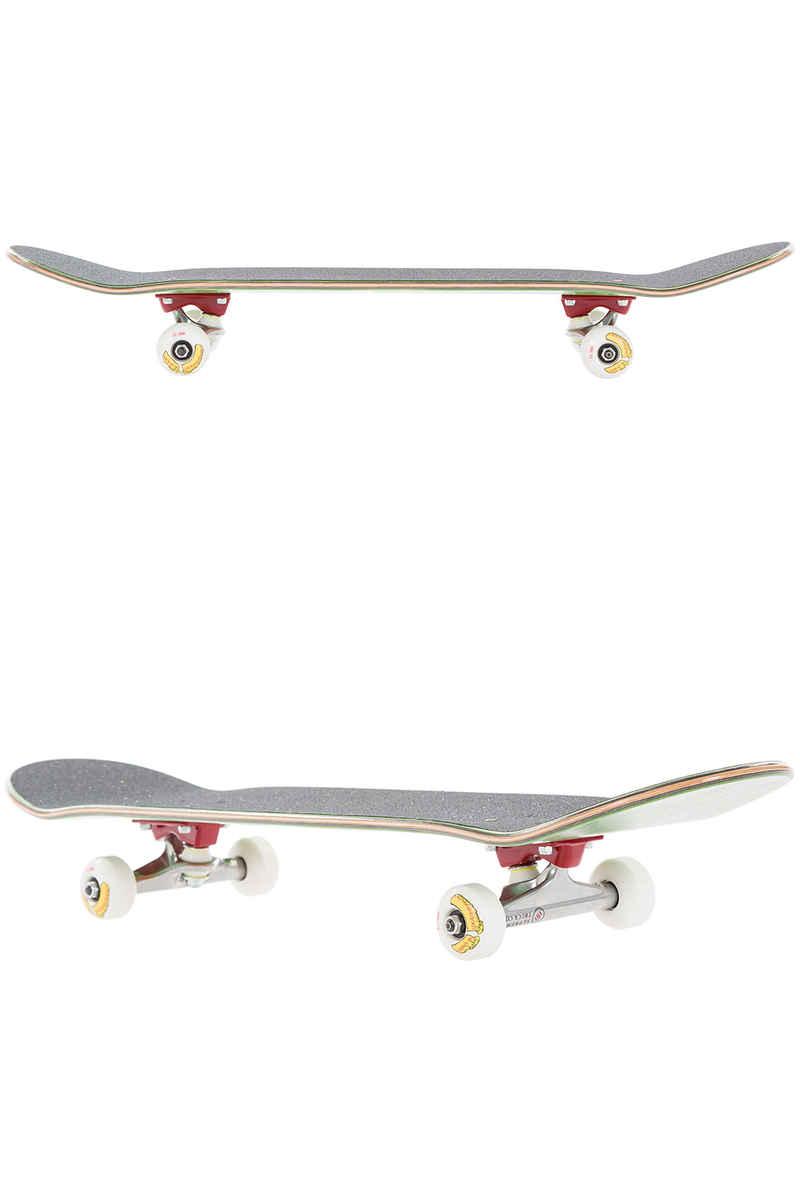 """Über Skateboards Reality Bites 7.5"""" Complete-Skateboard (black red)"""