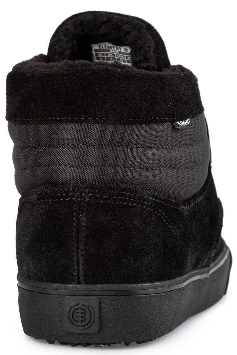 Element Topaz C3 Mid Suede Schoen  (black black)