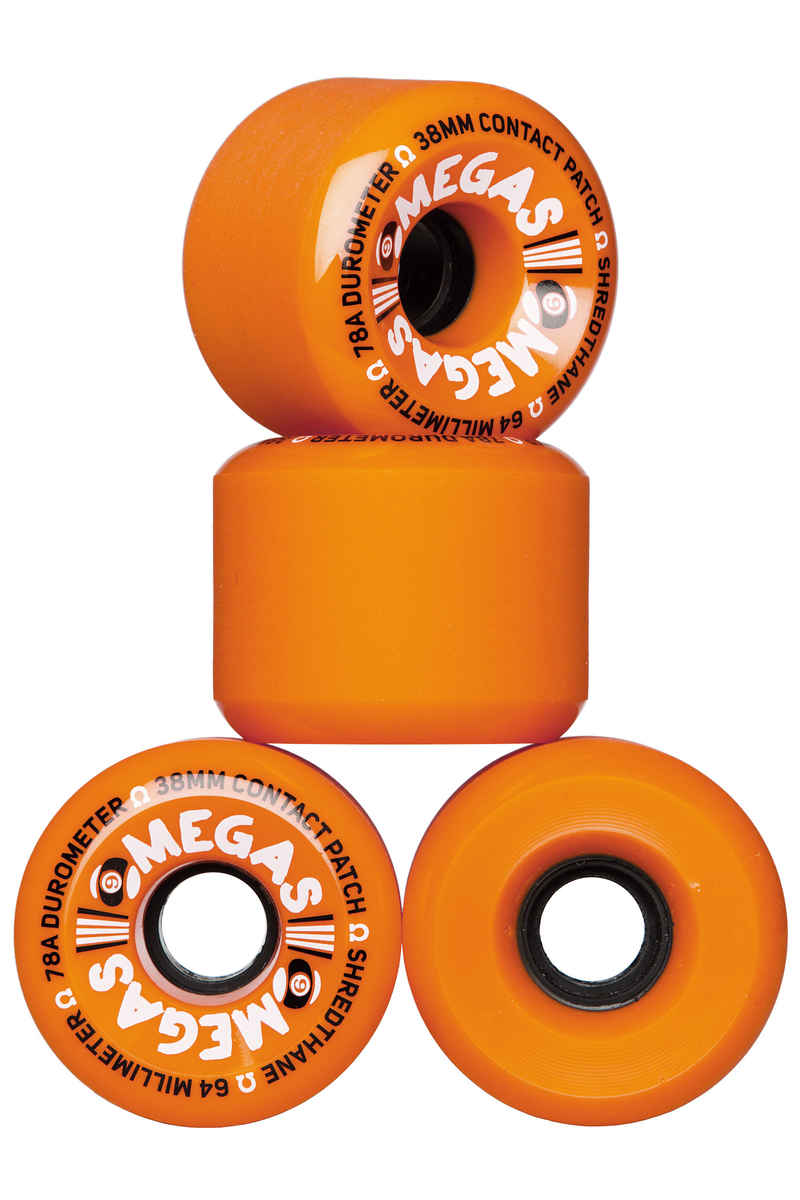 Sector 9 Omegas OS Ruote pacco da 4 64mm 78A