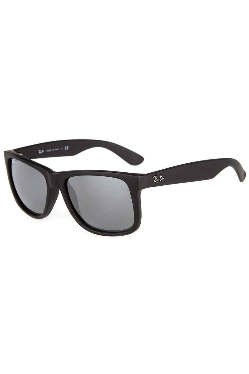 Ray-Ban Justin Gafas de sol 55mm (rubber black silver)