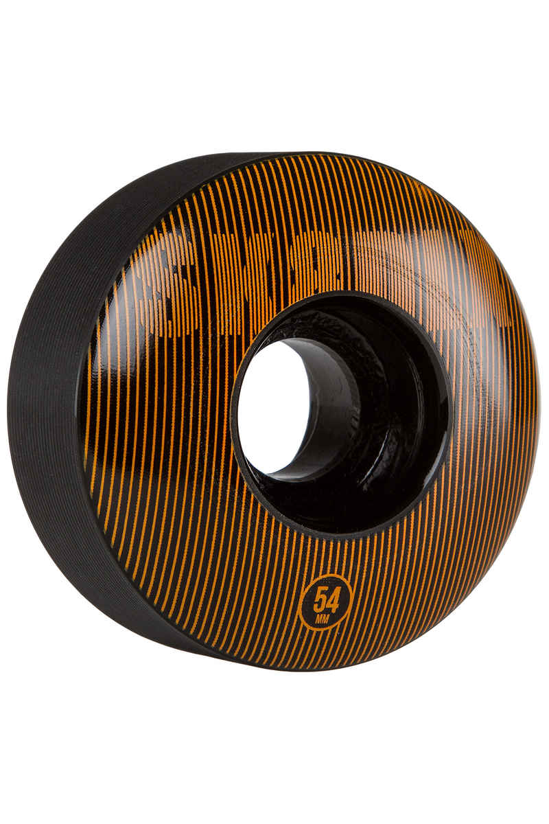 SK8DLX Stripe Series Roue (black orange) 54mm 100A 4 Pack
