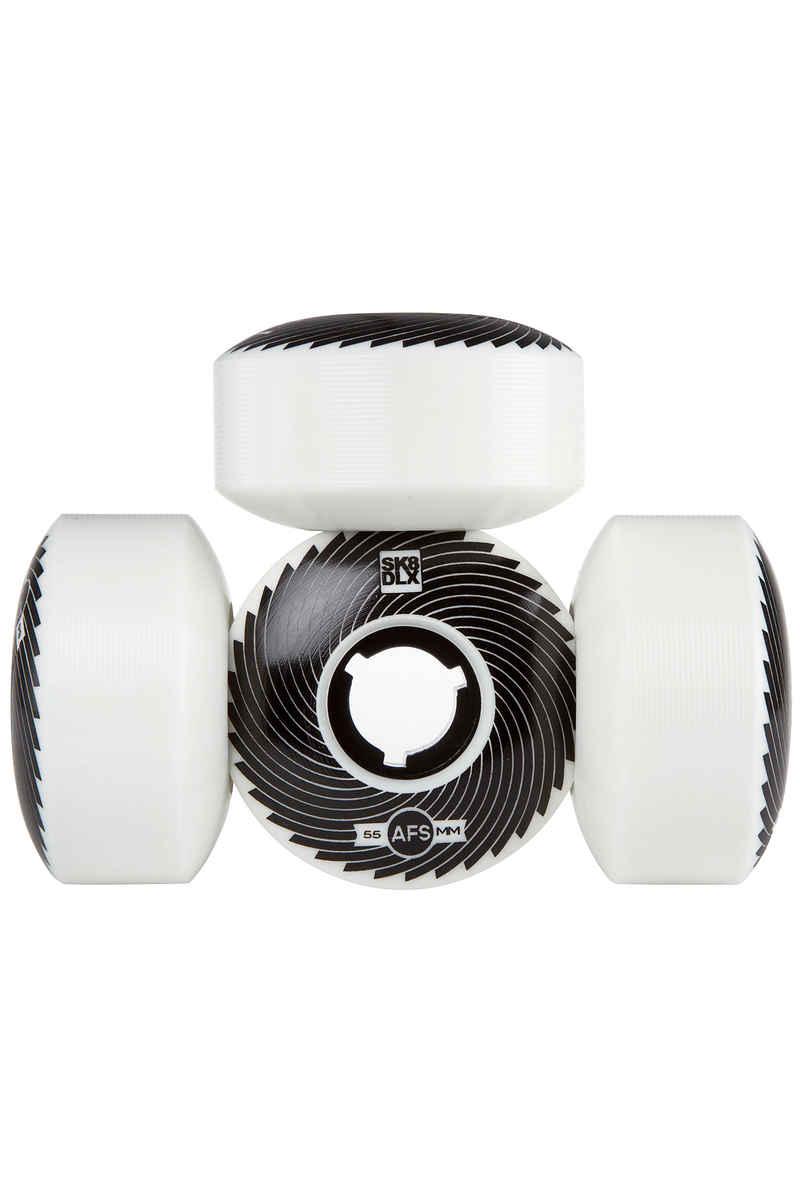 SK8DLX AFS Turbo Series Ruote 55mm 100A pacco da 4