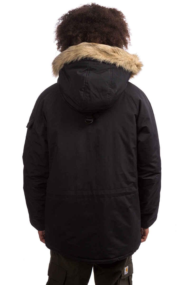 Carhartt WIP Anchorage Parka Jacke (black black)