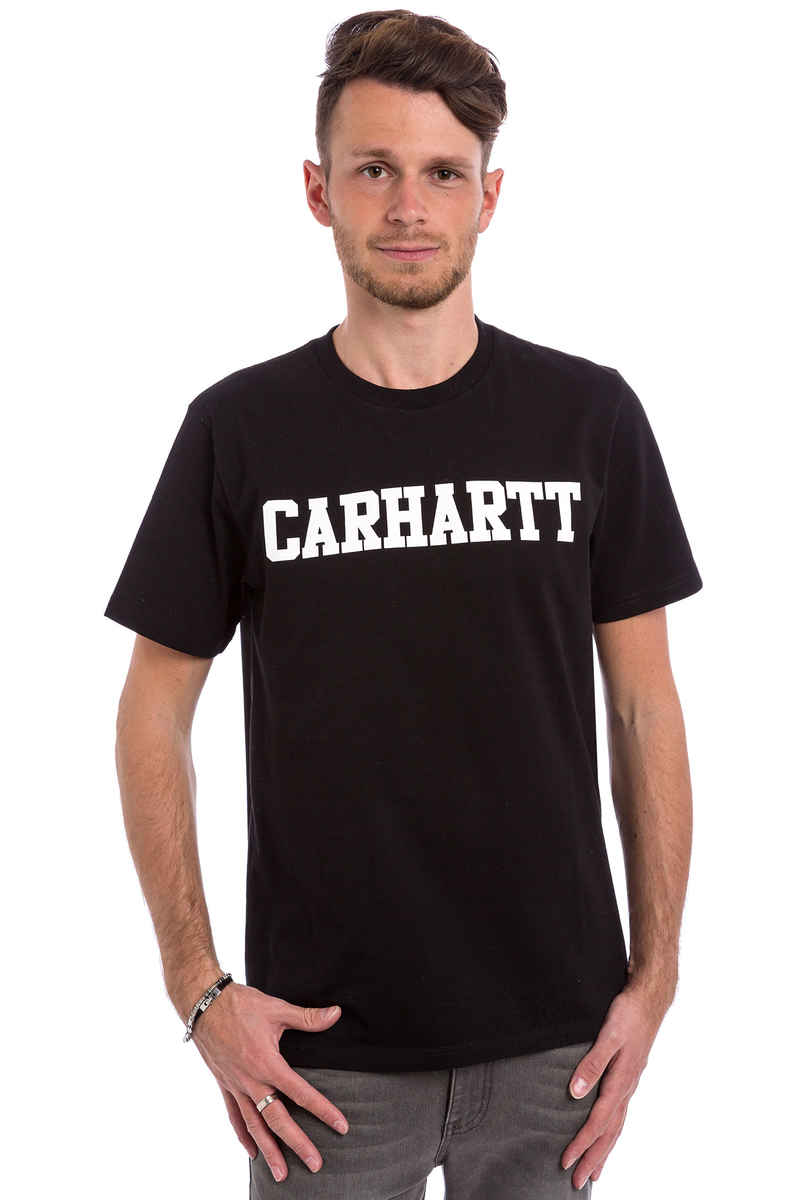 Carhartt WIP College T-Shirt (black white)