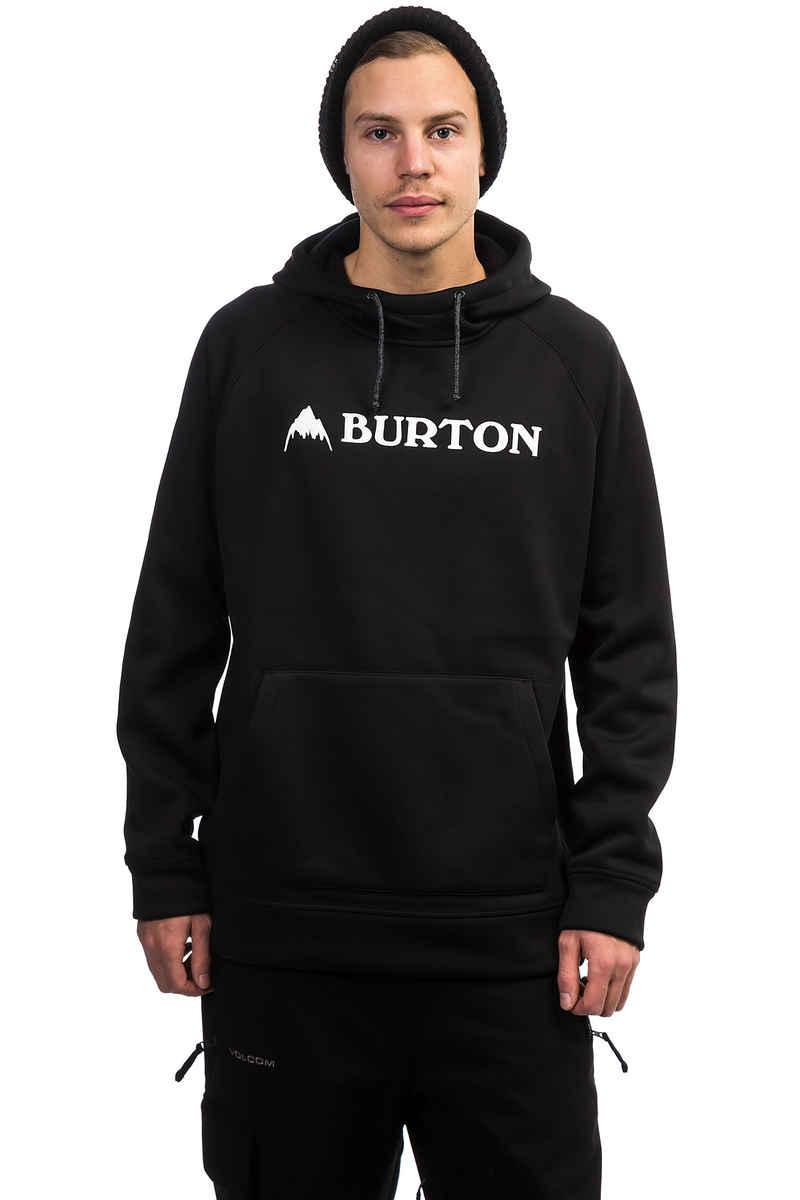 Burton Crown Bonded Neige Chandail à Capuchon (true black)