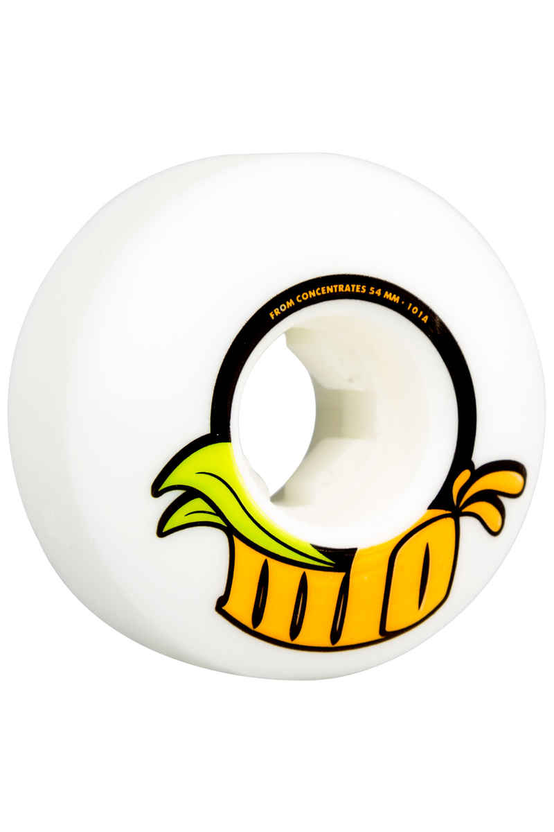OJ Wheels From Concentrate Rollen (white) 54mm 101A 4er Pack
