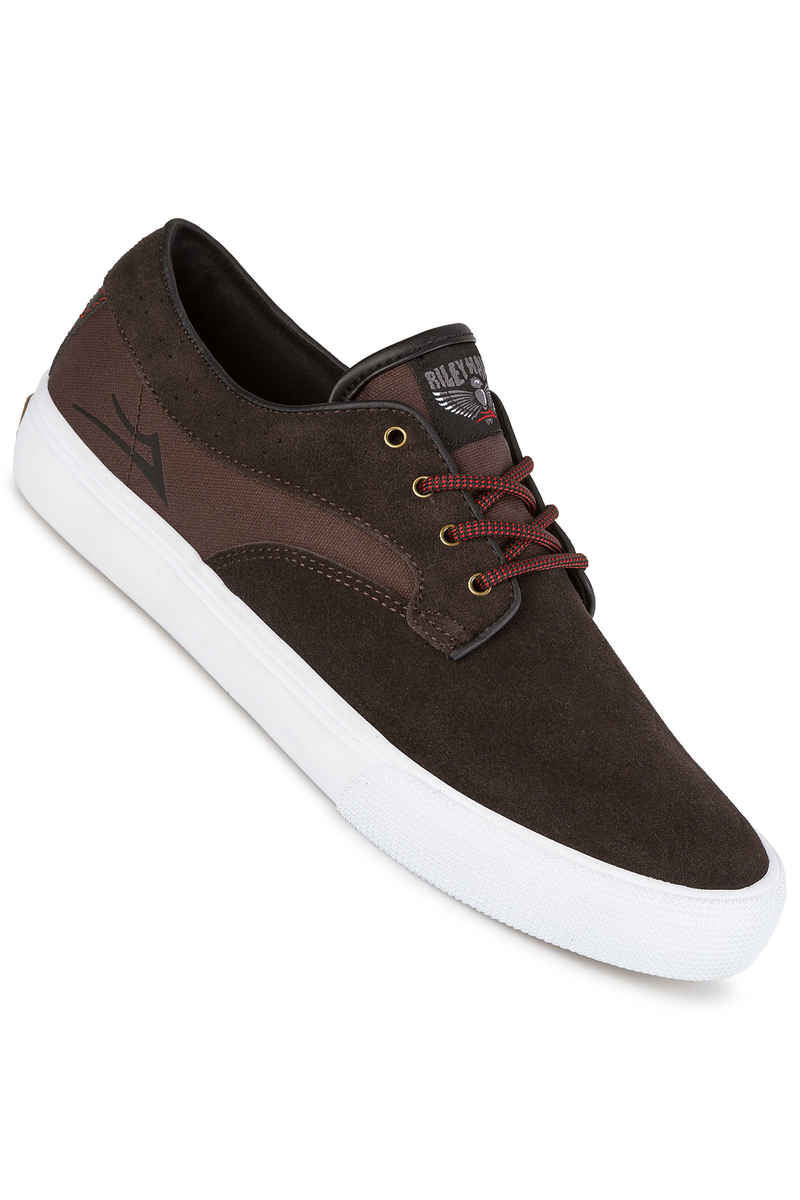Lakai Riley Hawk Suede 16 Shoes (chocolate)