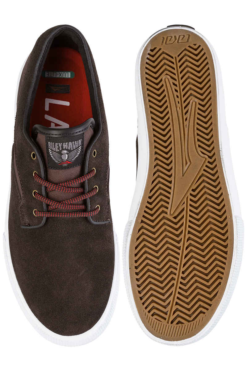 Lakai Riley Hawk Suede 16 Schoen (chocolate)