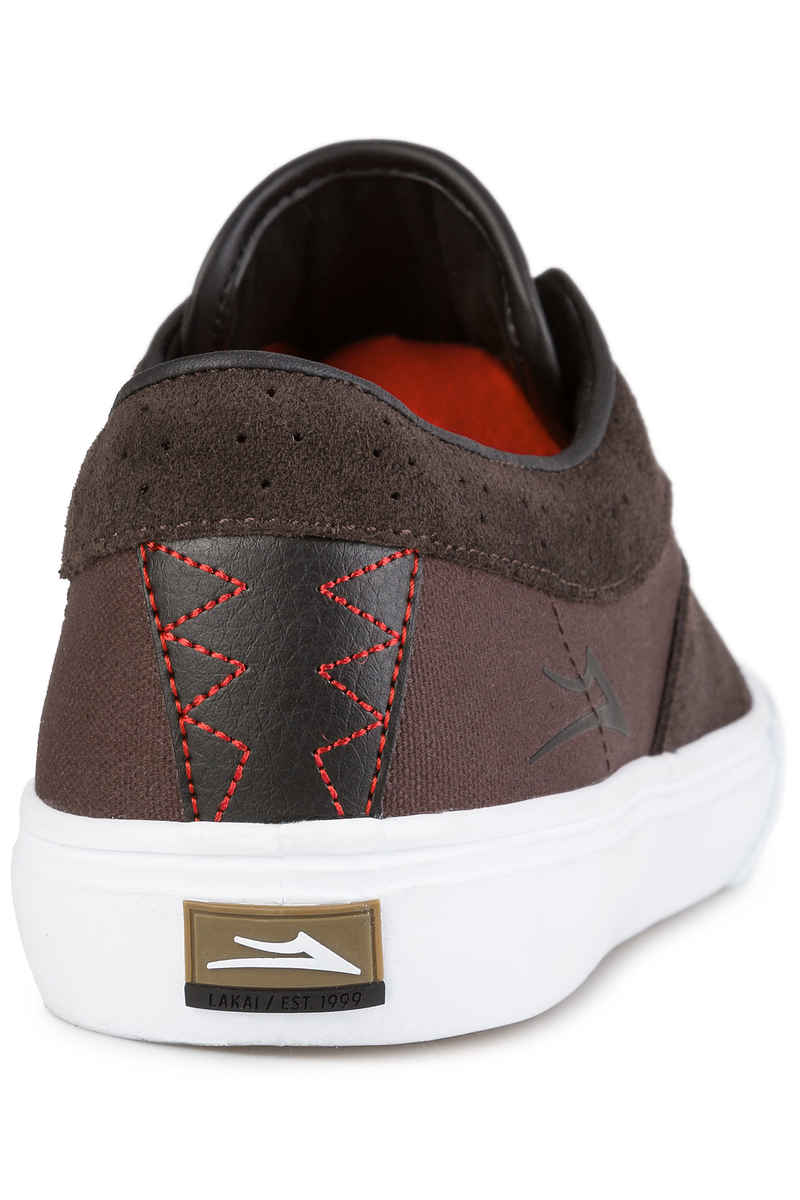 Lakai Riley Hawk Suede 16 Chaussure (chocolate)