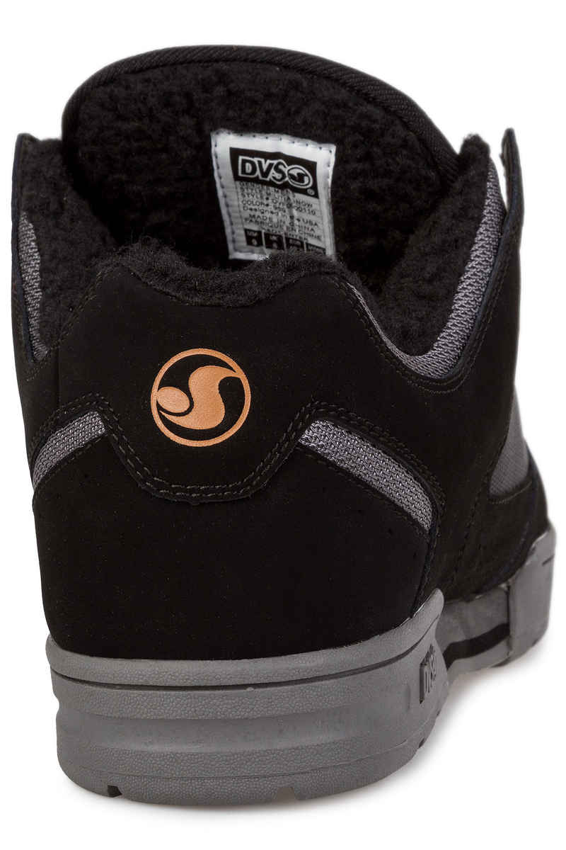DVS Militia Snow Nubuck Chaussure (black sherpa)