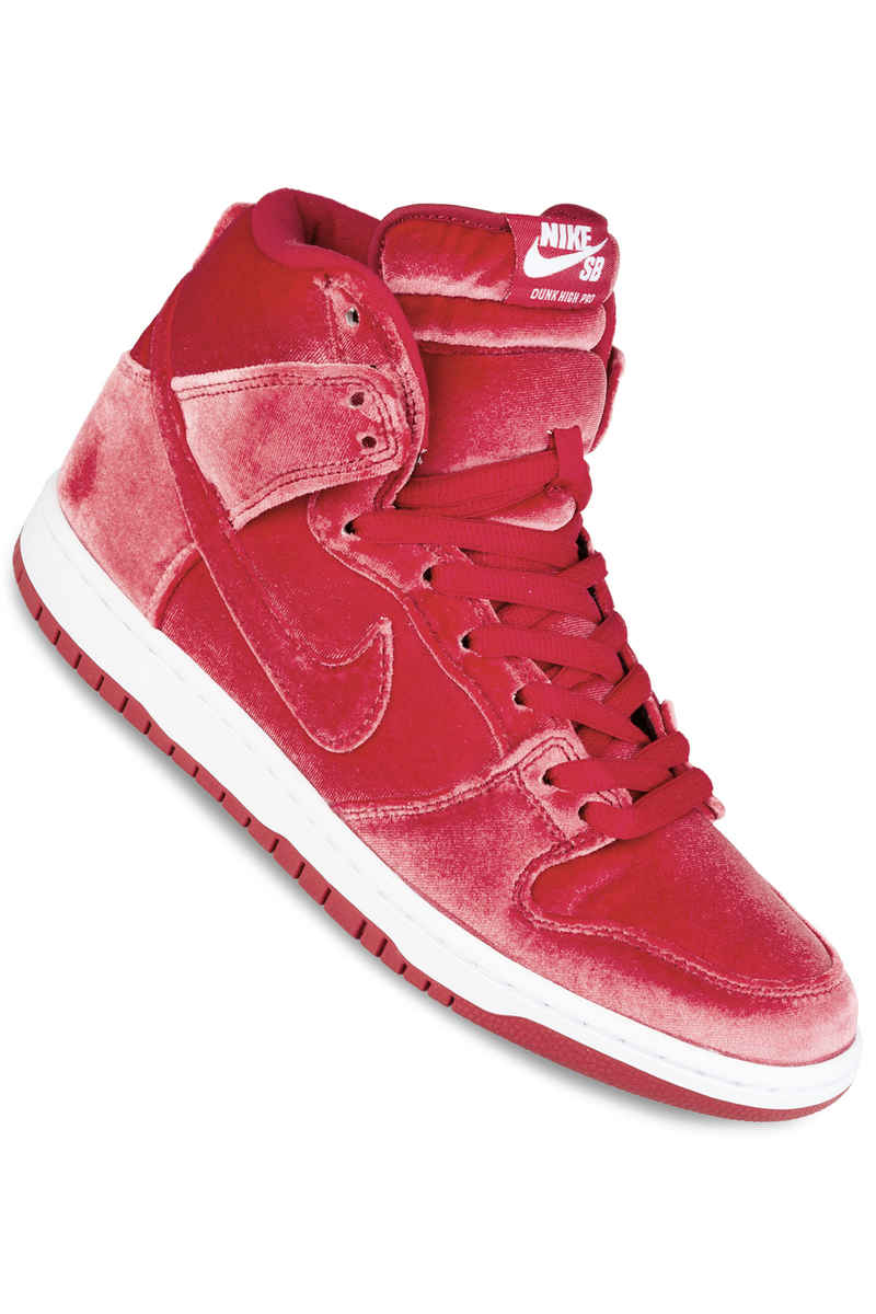Nike SB Dunk High Premium Shoe (gym red)