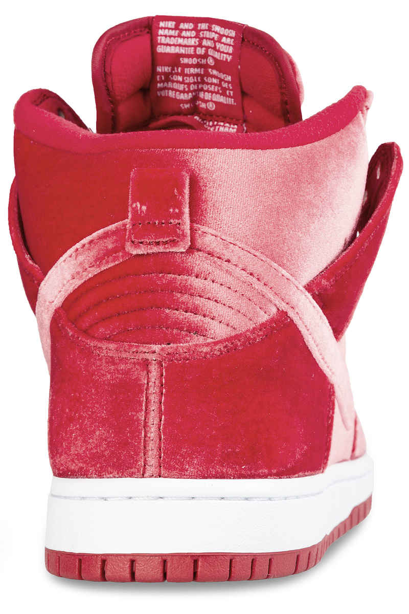 Nike SB Dunk High Premium Shoes (gym red)
