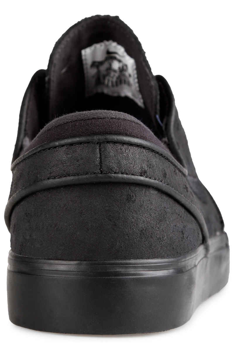 Nike SB Zoom Stefan Janoski Leather Schuh (black black anthracite)