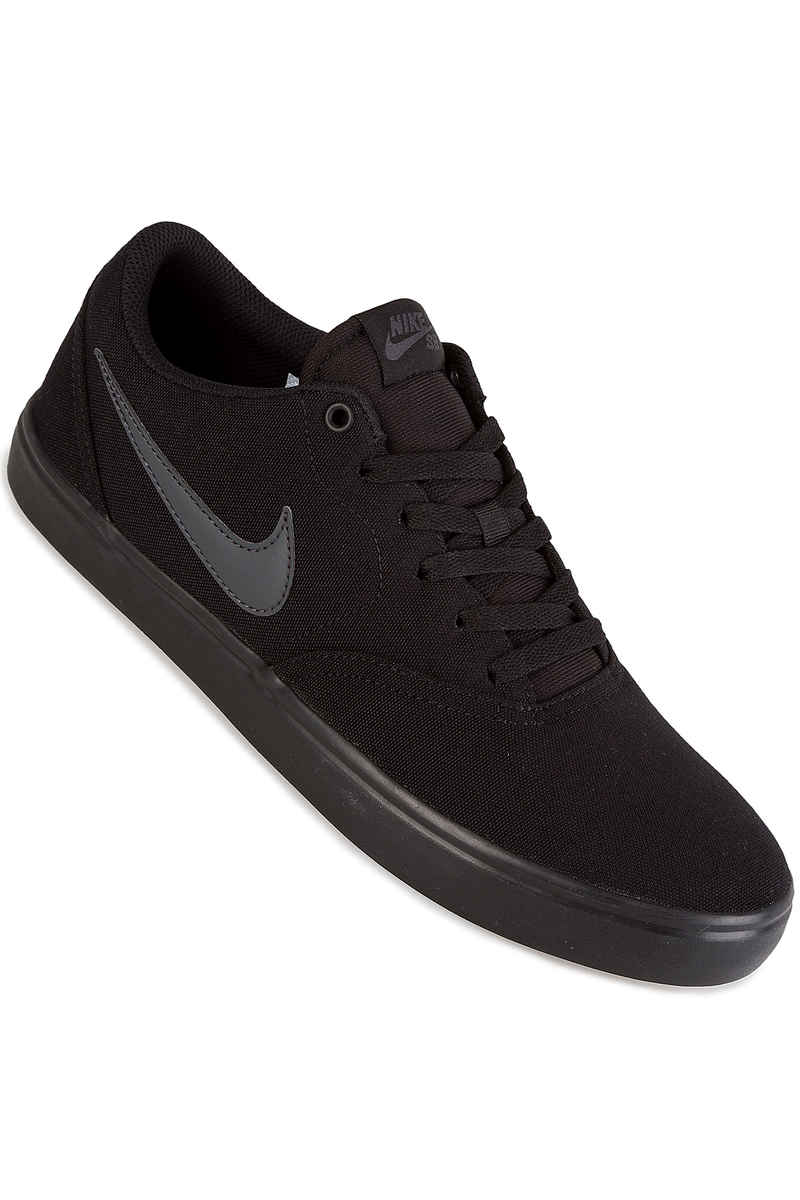 Nike SB Check Solarsoft Canvas Shoe (black anthracite)