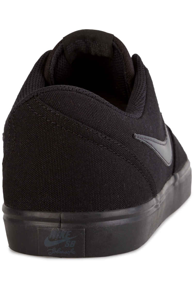Nike SB Check Solarsoft Canvas Chaussure (black anthracite)