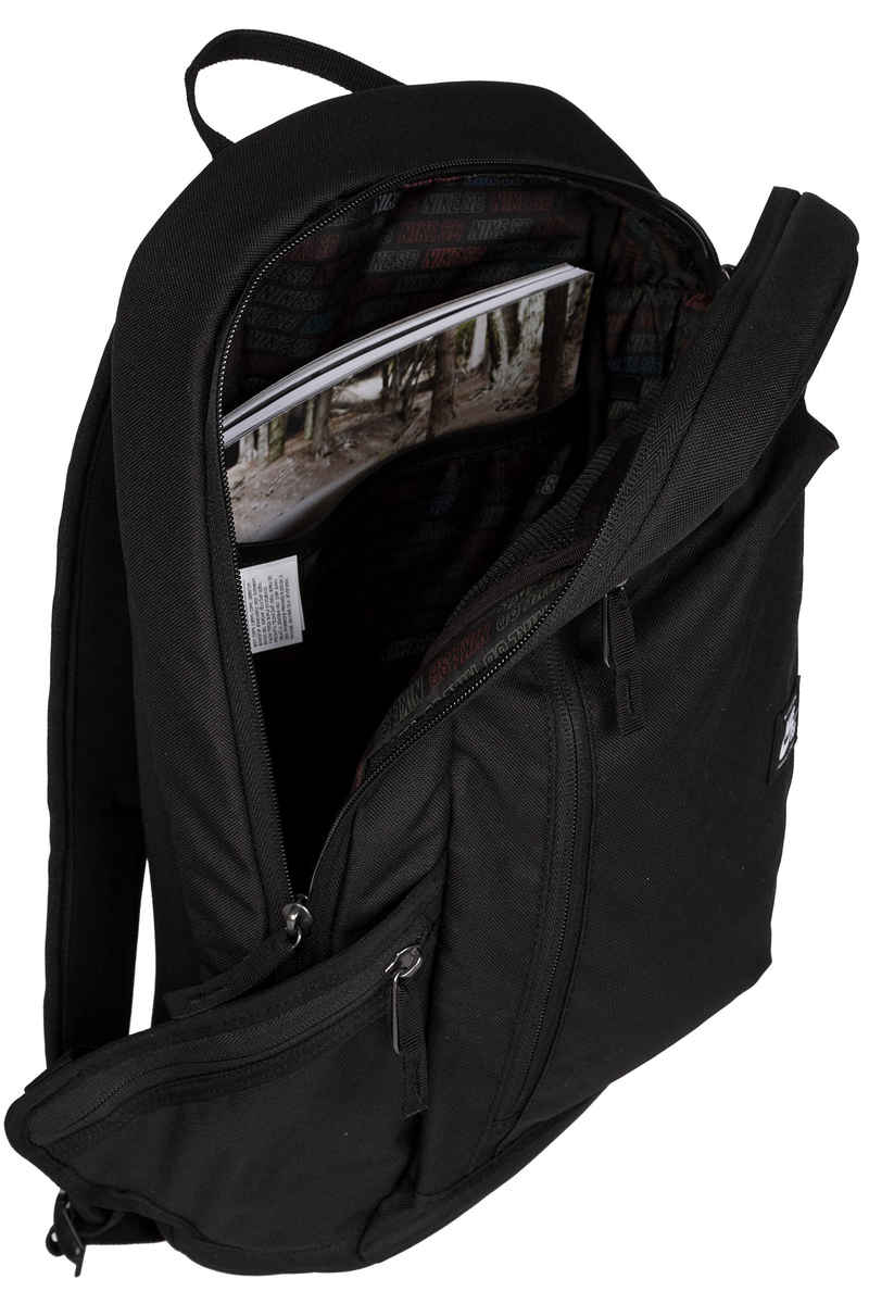 98d691d2b7 Nike Sb Shelter Backpack Black White At Skatedeluxe