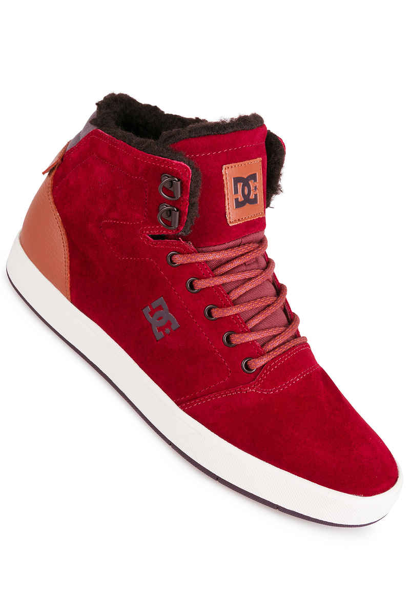 DC Crisis High WNT Shoes (syrah)