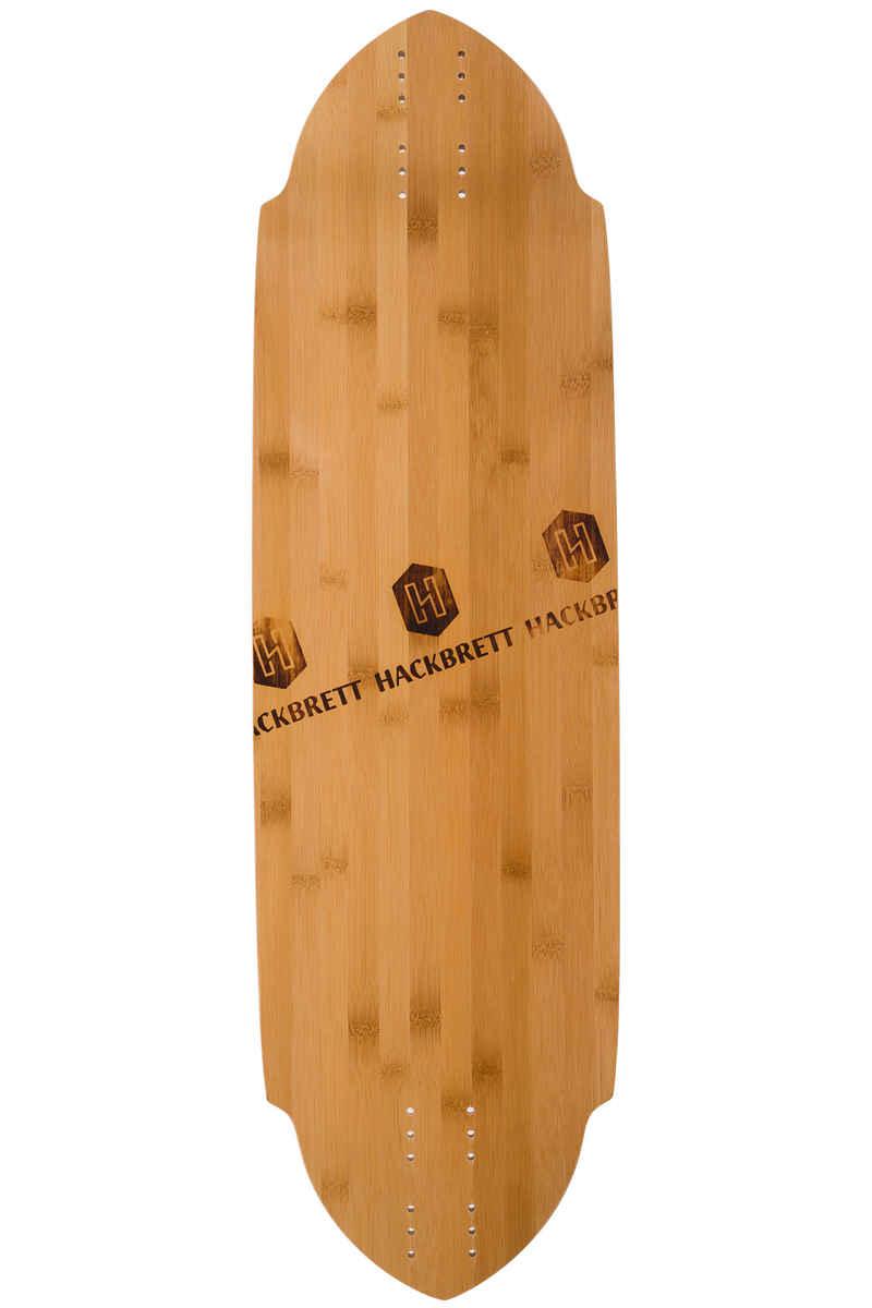 "Hackbrett Krokodil Bamboo 34.6"" (87,8cm) Tabla Longboard"
