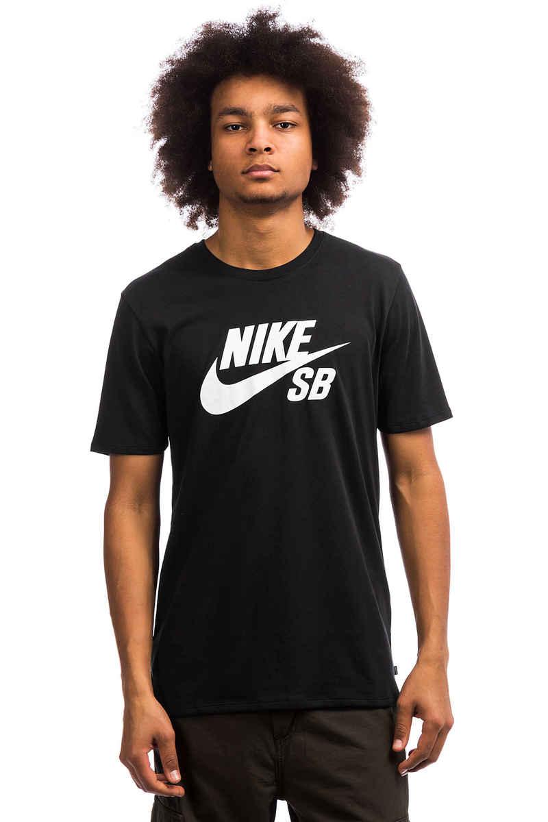 Nike SB Logo T-Shirt (black white)