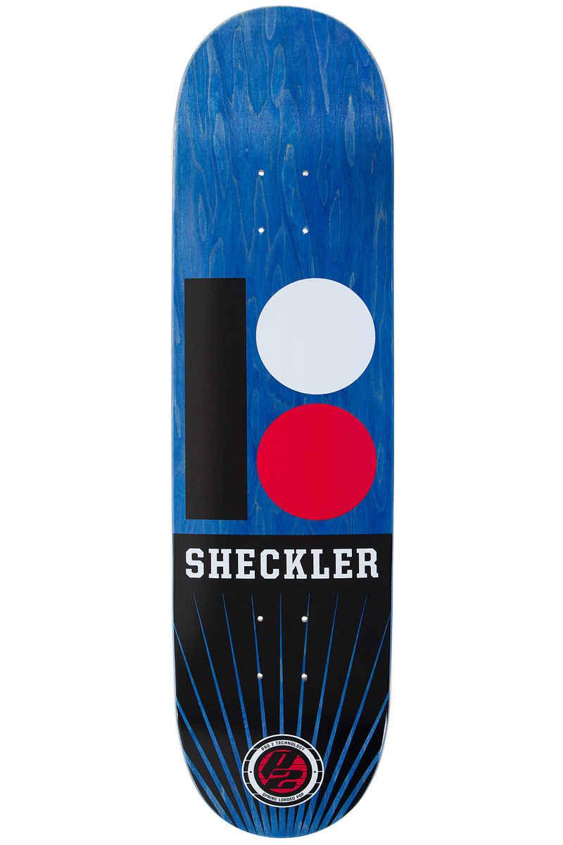 """Plan B Sheckler OG RMX P2 8.25"""" Deck (blue)"""