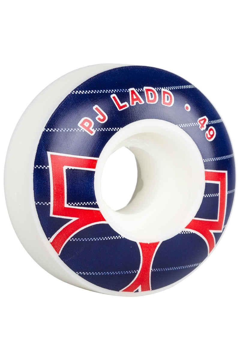 Plan B Ladd Era 49mm Wheel (white blue) 4 Pack