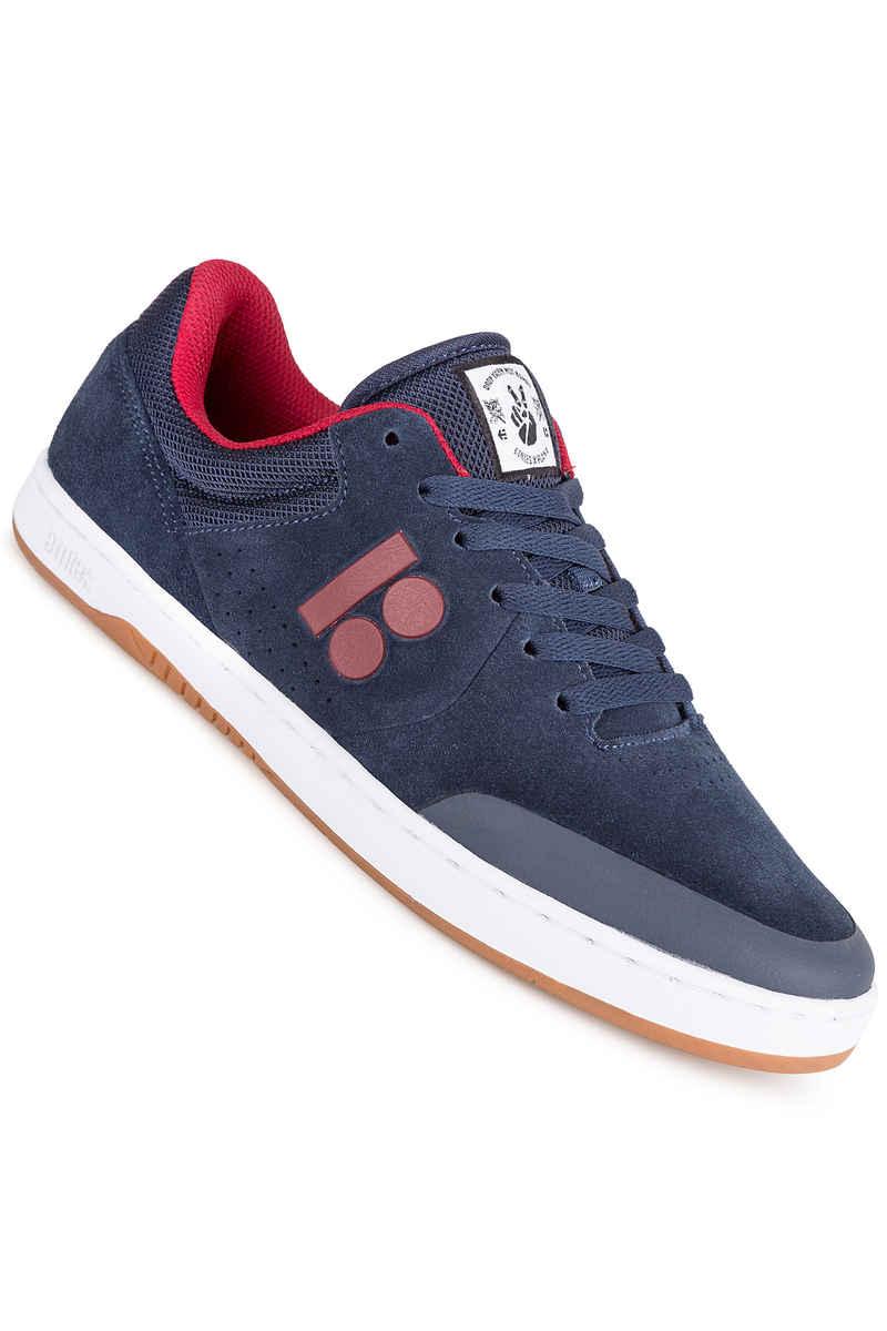 Etnies Marana Skate Shoes White Navy Red