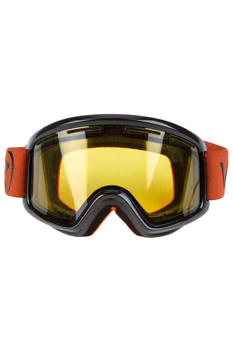 VonZipper Beefy Project Flatlight Goggles (black gloss burnt orange)