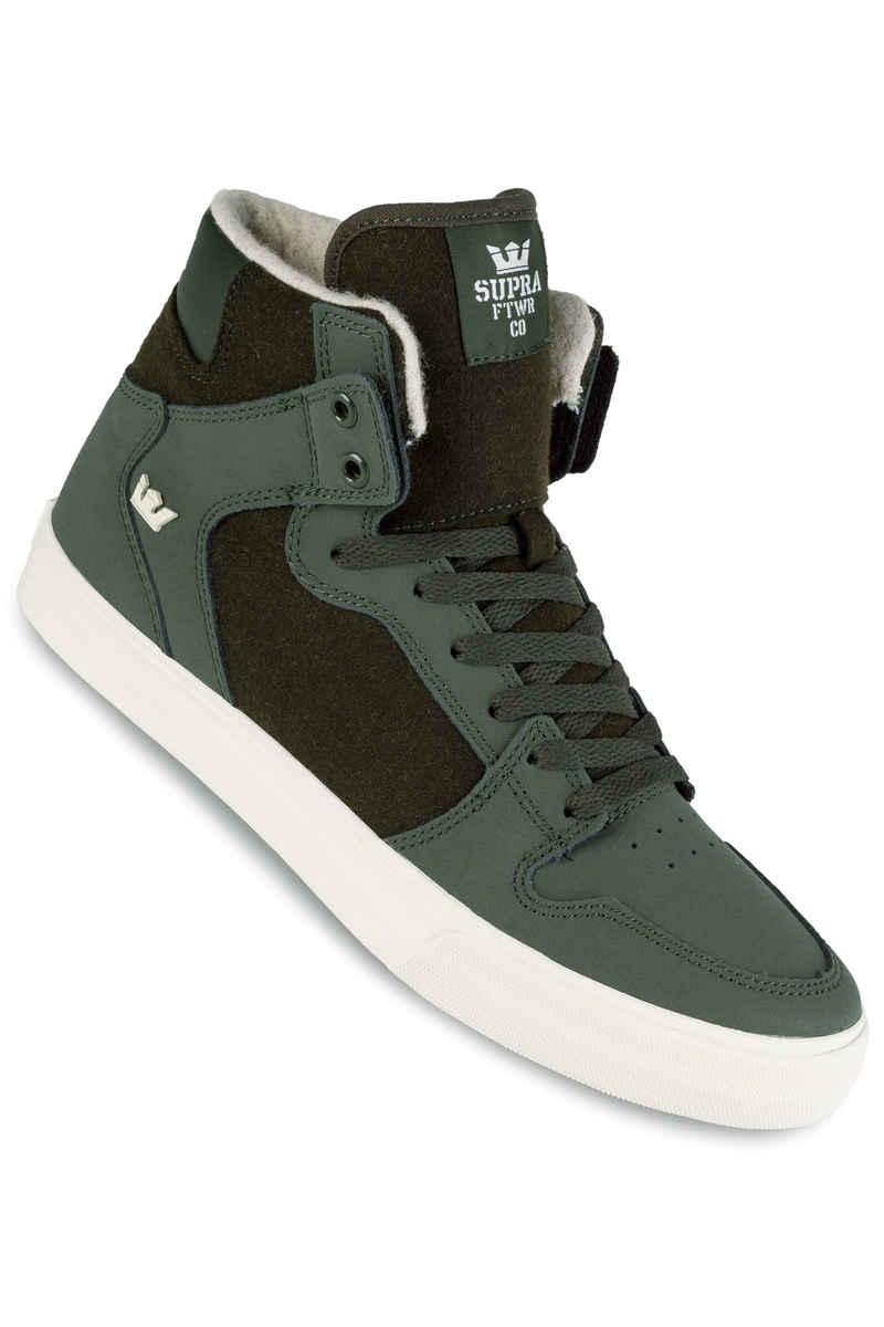 Supra Vaider Shoe (dark olive white)
