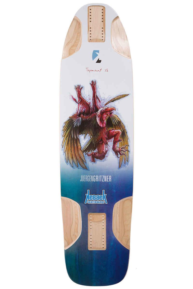 "Kebbek Jürgen Gritzner TopMount 38"" (96,5cm) Tabla Longboard Bio Suit Series"