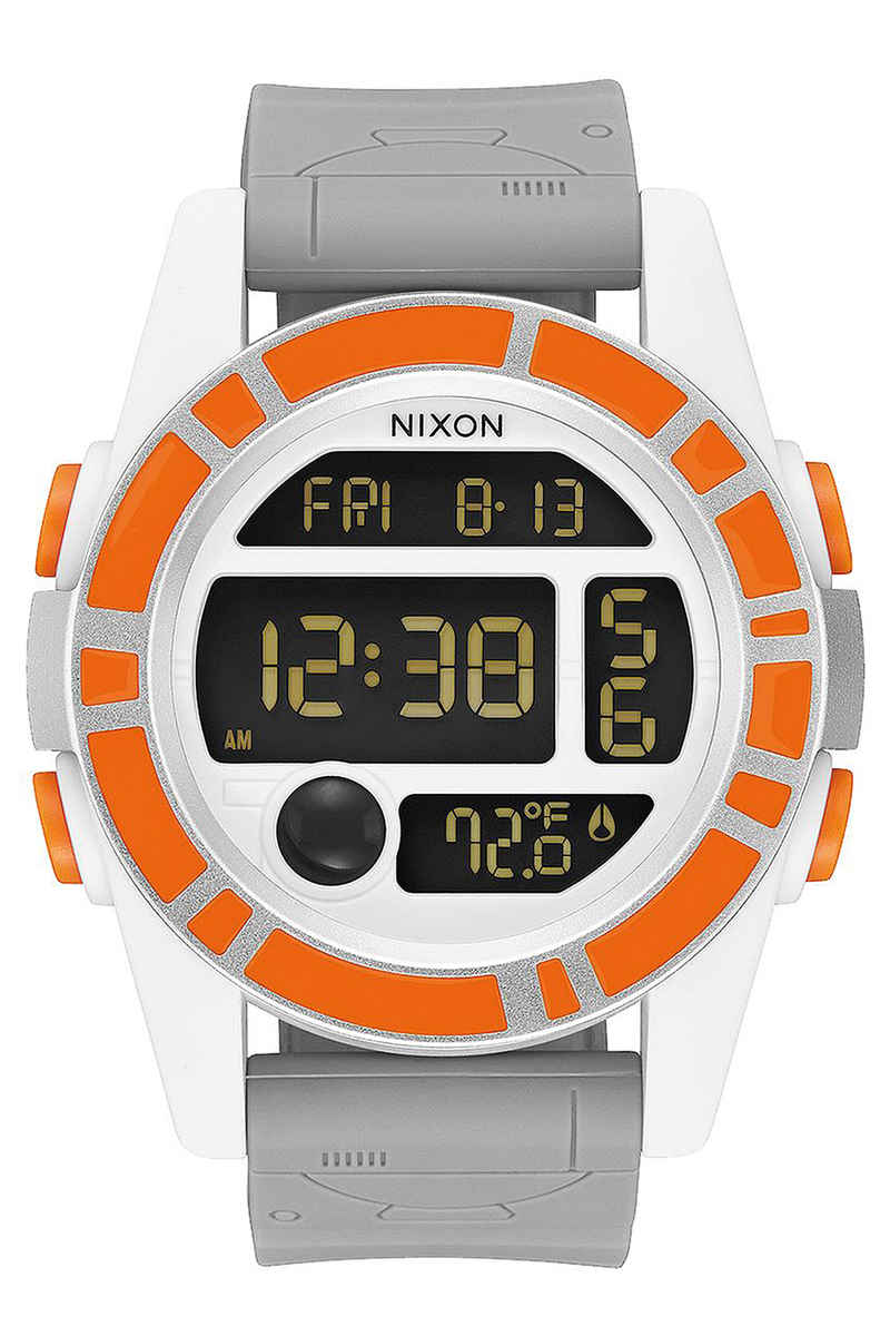 Nixon x Star Wars BB-8 The Unit Uhr (orange black)