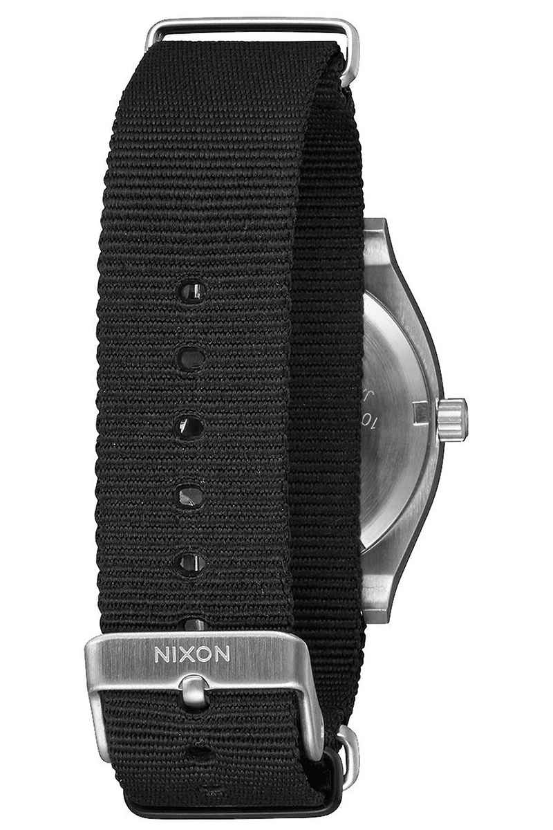 Nixon The Time Teller Nato Uhr (gunmetal sunray black)