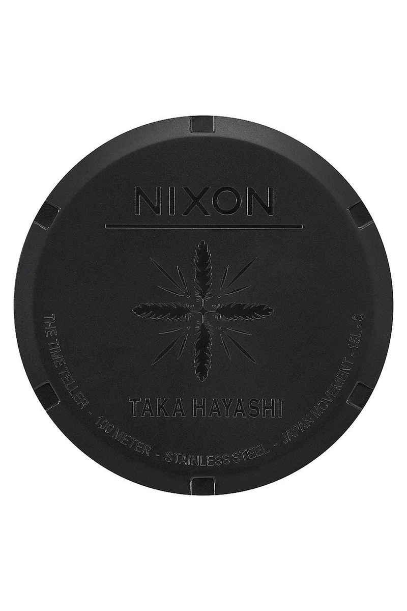 Nixon The Time Teller Taka Hayashi Watch (bone black)