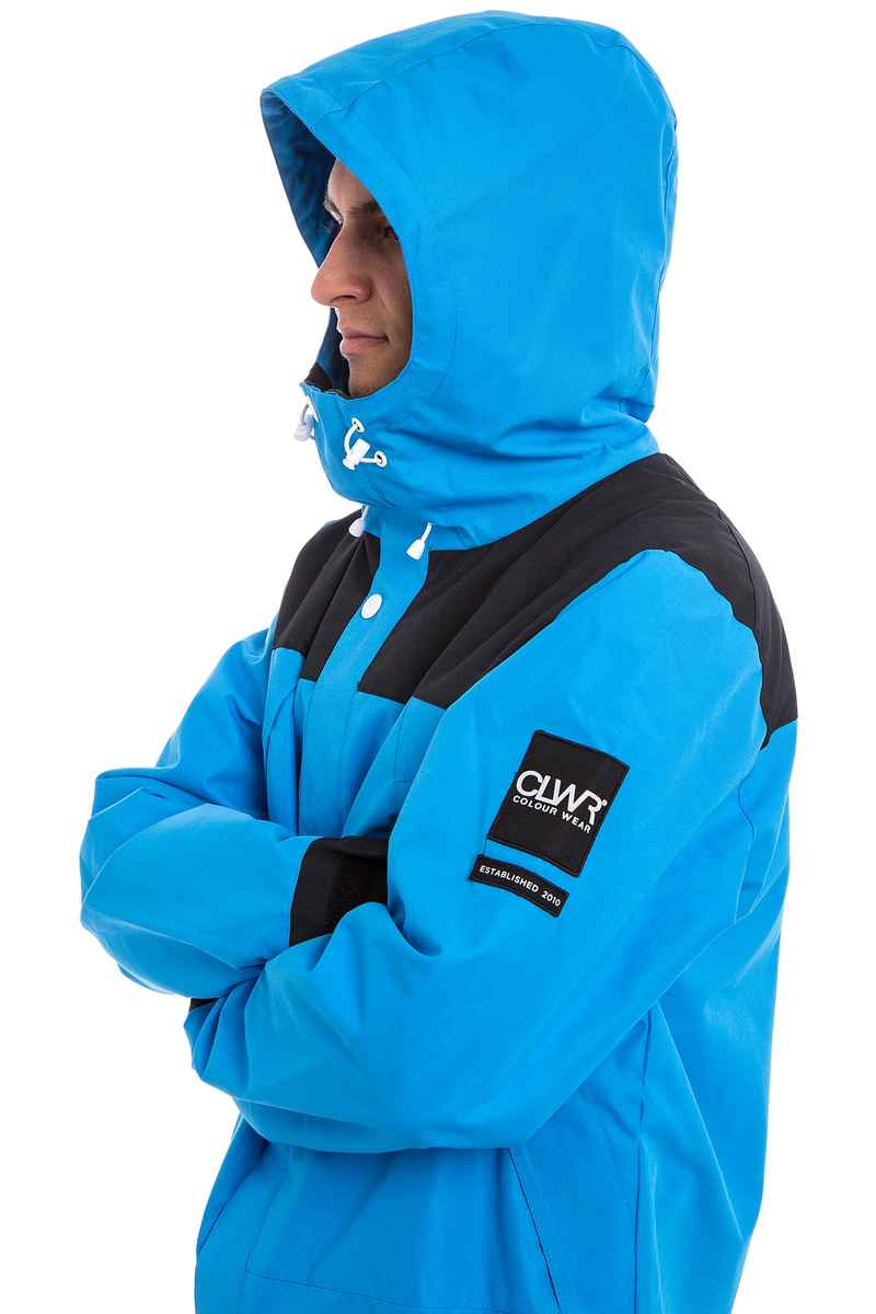 WearColour Rock Snowboard Jacket (acid blue)