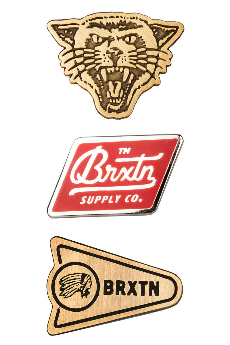 Brixton Fury Pin Pack Acces. (multi)