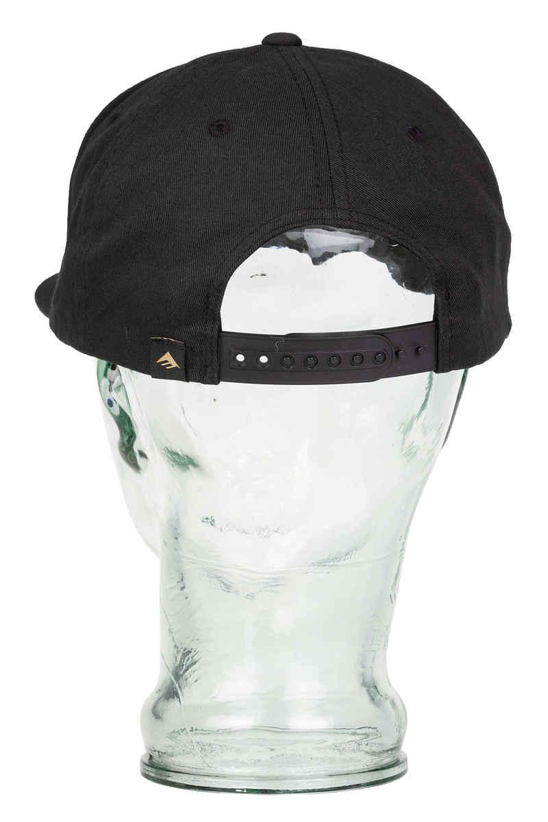 Emerica Traingle Snapback Cap (grey black)