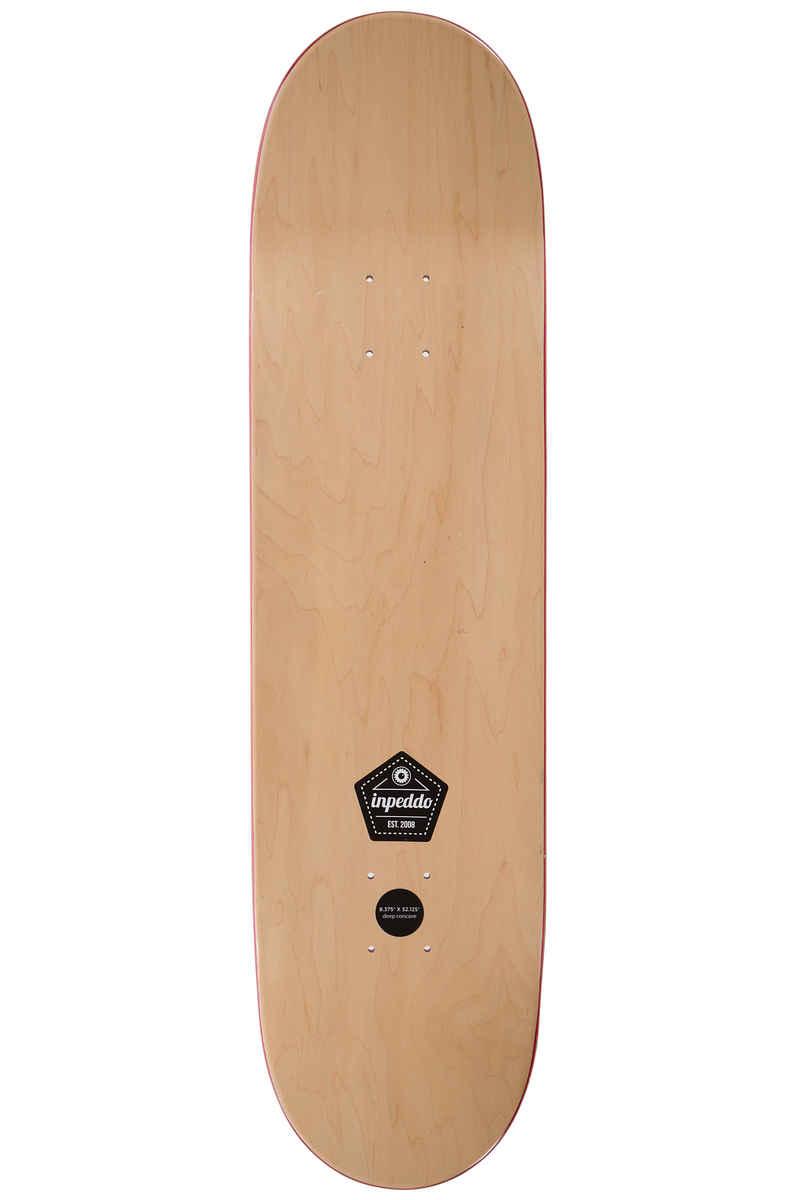 """Inpeddo Palm 8.375"""" Planche Skate (white)"""