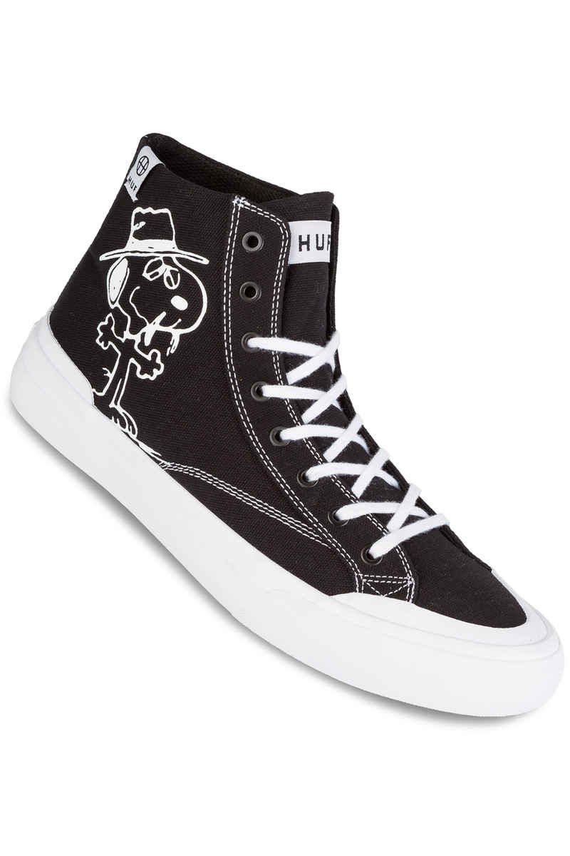 HUF x Peanuts Classic Hi Shoe (black white)