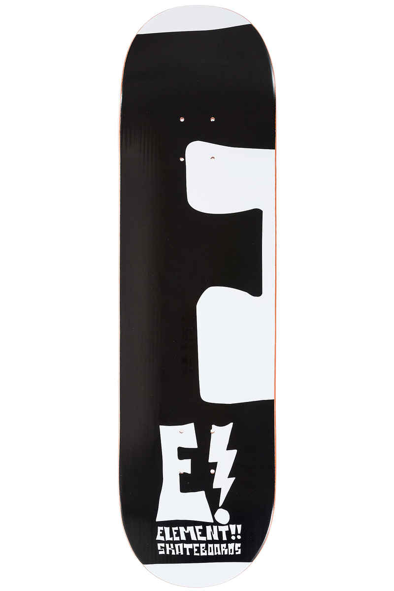 Element Team Rocksteady 8.5 Planche Skate (white black)