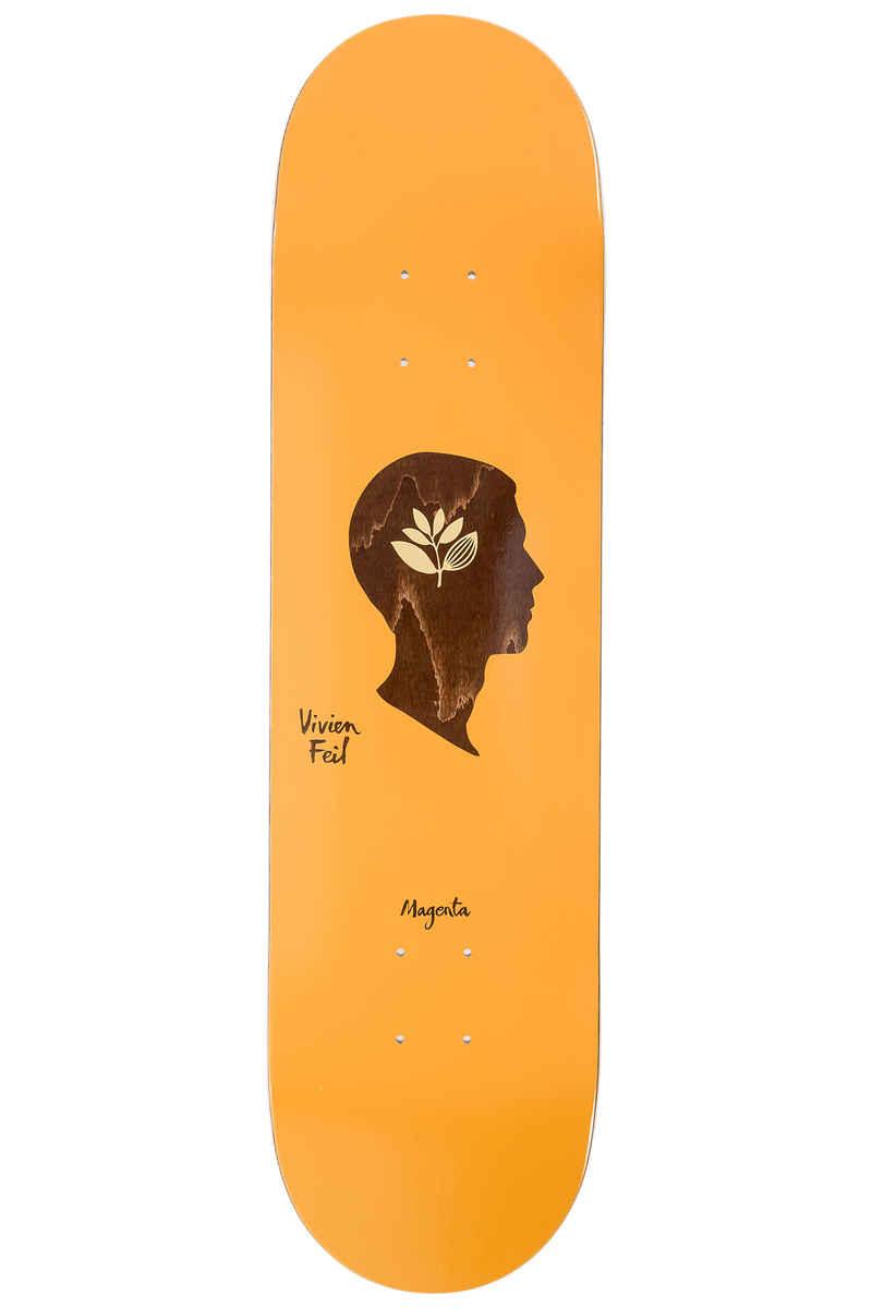 """Magenta Feil Essential 8.125"""" Deck (orange)"""