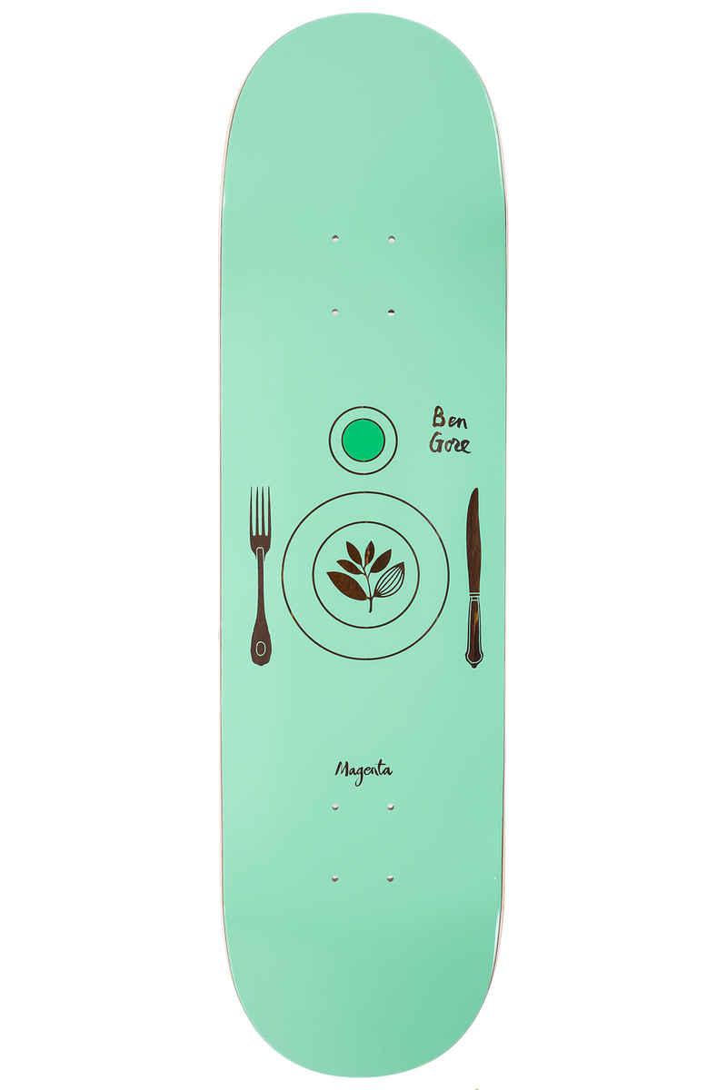 """Magenta Gore Essential 8.5"""" Deck (turquoise)"""
