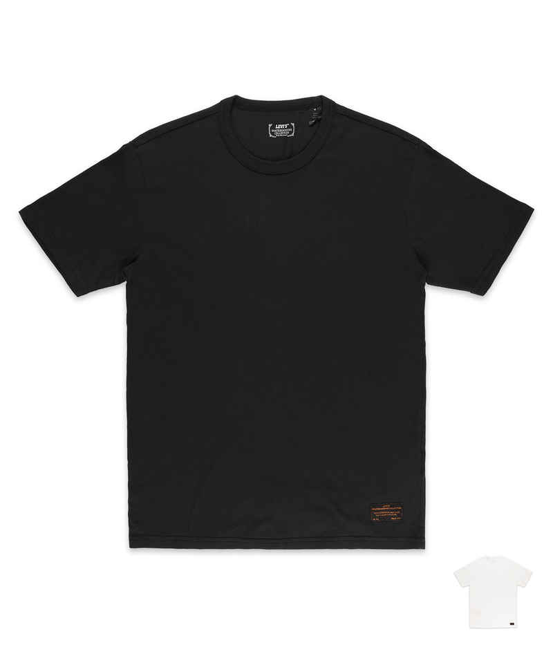 Levi's Skate 2 Pack T-Shirt (white jet black)