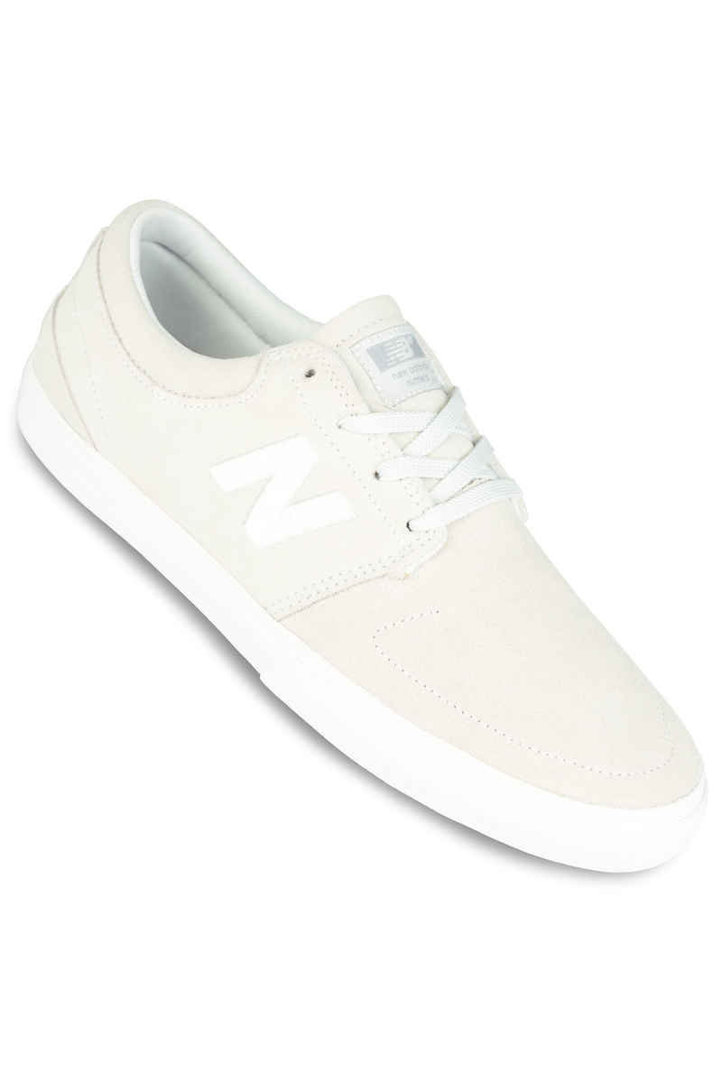 New Balance Numeric Brighton 344 Suede Shoe (white)