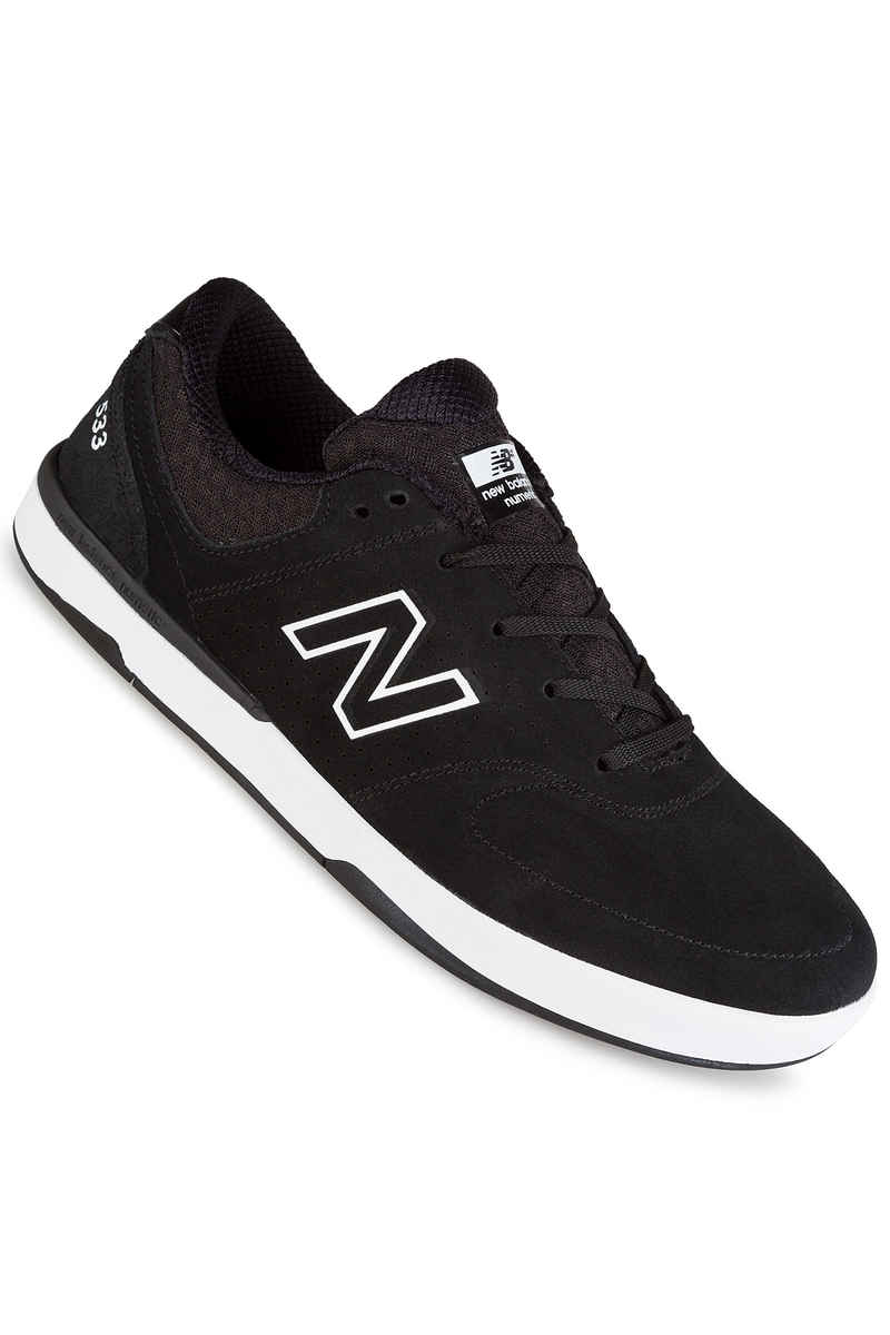 New Balance Numeric PJ Stratford 533 Suede Shoes (black)