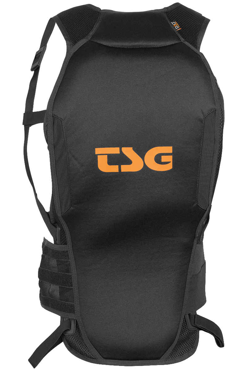 TSG Backbone Tank D3O Protector (black orange)